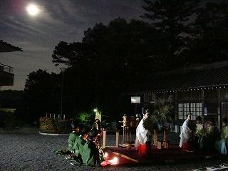 観月祭 多度 神社 大社 三重県