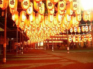 ちょうちん祭りのイメージ